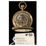 "Pocket Watch by ""American Waltham Watch Company"""