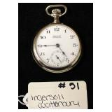 Ingersoll Waterbury Pocket Watch