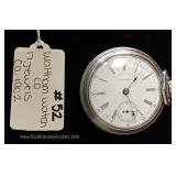 "17 Jewels Pocket Watch by ""Waltham Watch Company"" circa 1902"