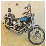 1991 FXSTS Soft Tail Springer Harley Davidson Motor Cycle  20,000 Original Miles  Medium Loud Pipes