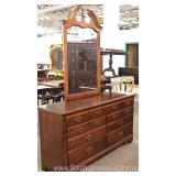Cherry Low Chest with Mirror Located Inside – Auction Estimate $100-$300