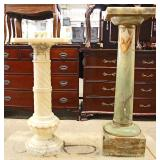Selection of ANTIQUE Marble Pedestals Located Inside – Auction Estimate $100-$300