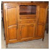 Continental French Solid Mahogany Server Cupboard Located Inside – Auction Estimate $200-$400