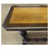 Depression Walnut Sofa Table Located Inside – Auction Estimate $100-$300
