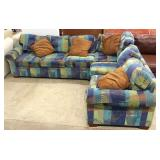 Contemporary Modern Design 3 Piece Sectional Sofa Located Inside – Auction Estimate $200-$400