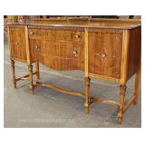 Walnut Two Tone Depression Buffet Located Inside- Auction Estimate $200-$400
