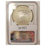 Walter Johnson Graded 70 Ultra Cameo Silver Commemorative Coin Located Inside – Auction Estimate $20