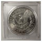 1898 Silver Morgan Dollar Located Inside – Auction Estimate $20-$50