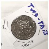 Double Sided Tails ½ Half Dollar Coin Located Inside – Auction Estimate $10-$20