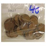 40 Mixed Date Wheat Pennies Located Inside – Auction Estimate $5-$15