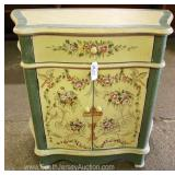 Decorator 1 Drawer 2 Door Side Cabinet Located Inside – Auction Estimate $50-$100