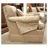 LIKE NEW CLEAN 2 Piece Contemporary Upholstered Sofa and Club Chair Maybe offered Separate - Located