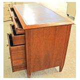 Contemporary Mahogany Banded Writing Desk Located Inside – Auction Estimate $100-$200