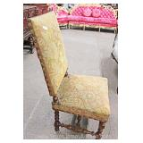 Upholstered Needlepoint Occasional Chair Located Inside – Auction Estimate $100-$200