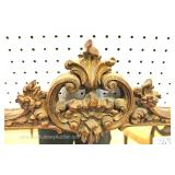 ANTIQUE Highly Carved French Mirror Located Inside – Auction Estimate $200-$400