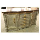 Monumental Decorator Buffet in the Manner of Maitland Smith Located Inside – Auction Estimate $200-$