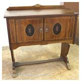 Depression Walnut 2 Door Server Located Inside – Auction Estimate $100-$300