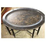 "Contemporary Decorator Butler's Serving Table / Coffee Table by ""Ethan Allen Furniture"""
