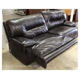 Selection of Contemporary Brown Leather Sofa's, some with Recliners and Power