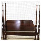 "SOLID Mahogany King Size Poster Bed by ""Kincaid Furniture"""