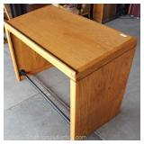 SOLID Oak VINTAGE Drafting Table