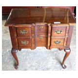 "SOLID Cherry Queen Anne Block Front Low Boy by ""Pennsylvania House Furniture"""