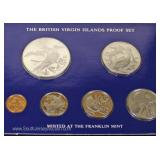 The Franklin Mint British Virgin Islands Proof Set