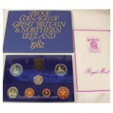 1982 Proof Coinage of Great Britain and Northern Ireland