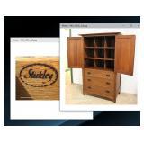 "BEAUTIFUL Mission Oak Gentlemen Chest by ""Stickley Furniture"" with Hidden Drawer Bottom Hideaway Spa"