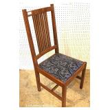 "Mission Oak Desk Chair by ""Stickley Furniture"""