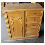 Mahogany Chest Located Dock – Auction Estimate $50-$100