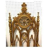 'Set of 4' ANTIQUE Gothic Style Hand Carved Chairs Located Inside – Auction Estimate $400-$800