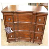 "NEW Mahogany Finish 3 Drawer Block Front Bachelor Chest by ""Hooker Furniture"""