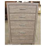 NEW Contemporary 5 Drawer High Chest