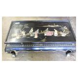 Asian Decorated Coffee table