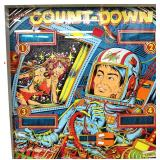VINTAGE Count-Down .25¢ Pinball Machine in Original Found Condition