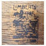 """ANTIQUE Mission Oak Oval Library Table by """"Limberts Furniture"""""""