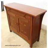 "SOLID Cherry One Drawer 2 Door Server in the Arts and Craft Style by ""Stickley Furniture"""