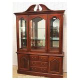 "8 Piece Cherry Queen Anne Dining Room Set by ""Thomasville Furniture, Impressions Collection"""