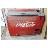 VINTAGE Coca Cola Chest Cooler with Original Paint