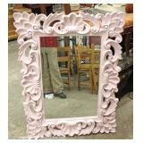Highly Carved and Ornate Decorator Mirror