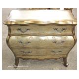 Bombay Poly Chrome Finish Decorator Contemporary Chest