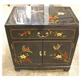 Asian Decorated Side Cabinet