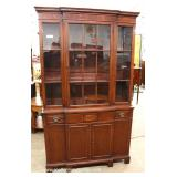 One of Several Mahogany China Cabinets