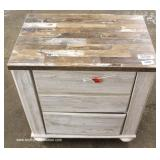 Brand New – Unused – Hardware in Drawers  Country Style NEW 3 Drawer Night Stand