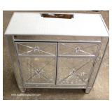 Hollywood Mirrored Decorator Chest
