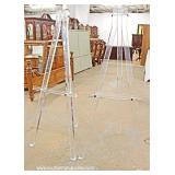RARE PAIR of Mid Century Lucite Easels