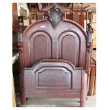 Selection of ANTIQUE Victorian Walnut High Back Beds