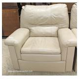 Selection of Leather Double Reclining Lounge Love Seat and Chairs