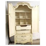 Country French Paint Decorated Gentlemen Chest with Fitted Interior – auction estimate $200-$400